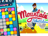 Puzzle match kit,Moutain Bike Rider,top game,game chat luong,game chất lượng,match 3